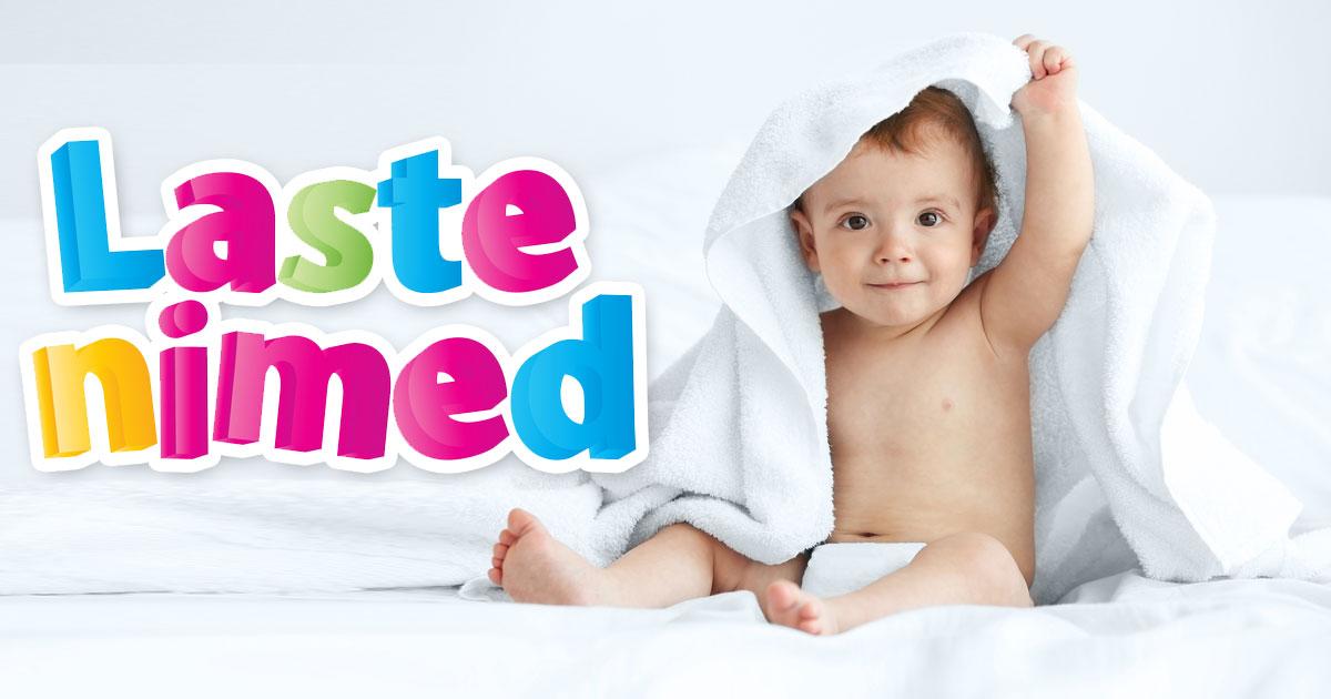e525de24be9 Laste nimed - poiste ja tüdrukute nimed - nimede statistika - TOP 100